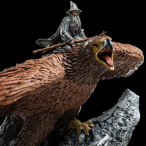 Lord of the Rings Statue Gandalf on Gwaihir 15 cm - 11