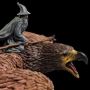 Lord of the Rings Statue Gandalf on Gwaihir 15 cm - 10