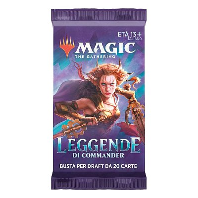 Magic the Gathering Leggende di Commander Draft Booster Display (24) italian