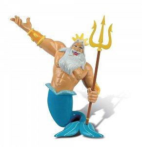 Malá mořská víla Figurka Král Triton - 1