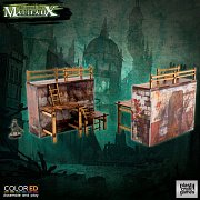 Malifaux ColorED Miniature Gaming Model Kit 32 mm Quarantine Zone - Outer Wall