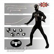 Marvel Action Figure 1/12 Black Suit Spider-Man Previews Exclusive 15 cm