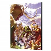 Marvel Avengers Collection Wooden Wall Art All-New, All-Different Avengers 1 - Alex Ross 40 x 60 cm