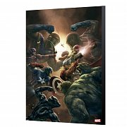 Marvel Avengers Collection Wooden Wall Art New Avengers 43 - Aleksi Briclot 24 x 36 cm