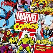 Marvel Comics Classic Calendar 2018 English Version*