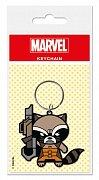 Marvel Comics Gumová klíčenka Rocket Raccoon