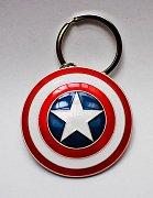Marvel Comics Kovová klíčenka Captain America - Štít