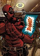 Marvel Comics Metal Poster Deadpool Covers Outta The Way Nerd 10 x 14 cm