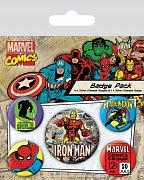 Marvel Comics Odznáčky Iron Man - 5 kusů