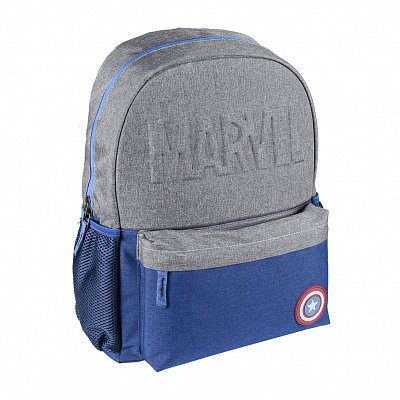 Marvel High School Backpack Captain America Star Logo