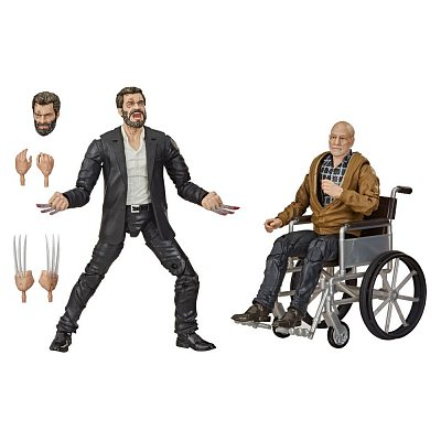 Marvel Legends Series Action Figure 2-Pack 2020 Marvel\'s Logan & Charles Xavier Exclusive 15 cm