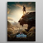 Marvel Metal Poster Black Panther Long Live The King 32 x 45 cm