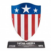 Marvel\'s Captain America Replica 1/6 Captain America\'s 1940\'s Shield LC Excl. 10 cm --- DAMAGED PACKAGING