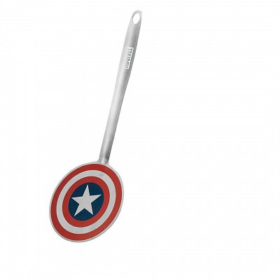Marvel Spatula Coloured Captain America Shield --- DAMAGED PACKAGING