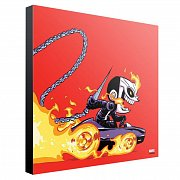 Marvel Wooden Wall Art Ghost Rider by Skottie Young 30 x 30 cm