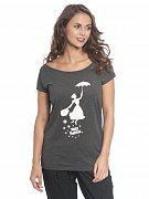 Mary Poppins Ladies Loose T-Shirt Umbrella