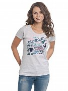 Mary Poppins Ladies T-Shirt Practically Perfect