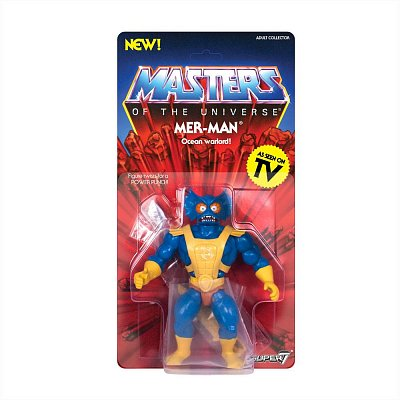 Masters of the Universe Vintage Collection Action Figure Wave 3 Mer-Man 14 cm --- DAMAGED PACKAGING