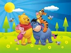 Medvídek Pú a jaro