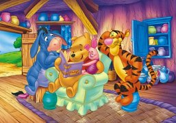 Medvídek Pů s knížkou