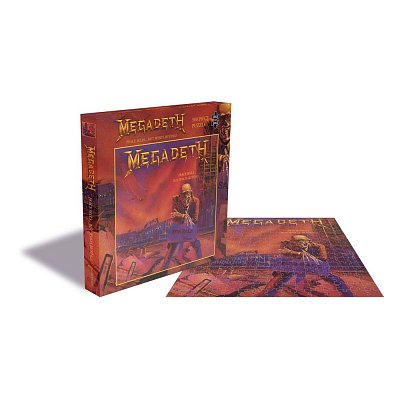 Megadeth Rock Saws Jigsaw Puzzle Peace Sells... But Who´s Buying (500 pieces)