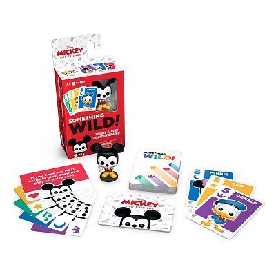 Mickey and Friends Card Game Something Wild! Case (4) English Version