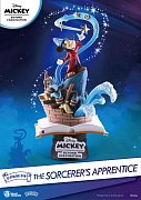 Mickey Beyond Imagination D-Stage PVC Diorama The Sorcerer\'s Apprentice 15 cm