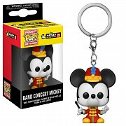 Mickey Maus 90th Anniversary Pocket POP! Vinyl Keychain Band Concert Mickey 4 cm