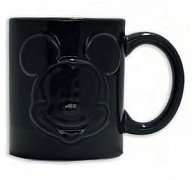Mickey Mouse Relief Mug Black