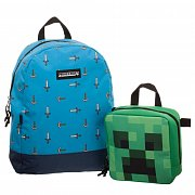 Minecraft Backpack & Lunch Box Set Sword Axe