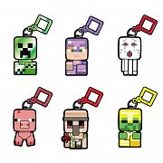 Minecraft Bobble Mobs Hangers Series 3 Blind Boxes Display (18)