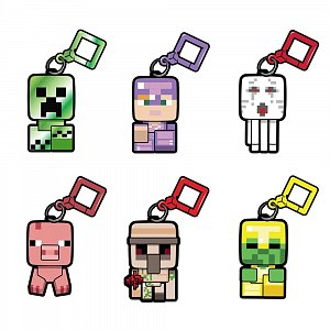 Minecraft Bobble Mobs Hangers Series 3 Blind Boxes Display (18) - 1