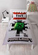 Minecraft Duvet Set Reversible Dynamite 135 x 200 cm / 48 x 74 cm