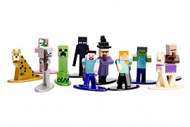 Minecraft Nano Metalfigs Diecast Mini Figures 20-Pack Wave 1 4 cm