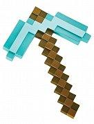 Minecraft Plastic Replica Diamond Pickaxe 40 cm