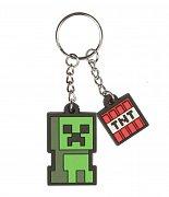 Minecraft Rubber Keychain Creeper Sprite 4 cm