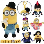 Minions Plush Backpack Hangers Movie 14 cm Assortment (6)