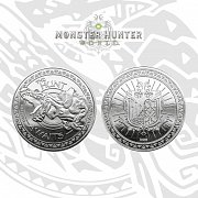 Monster Hunter Collectable Coin The Hunt Awaits (silver plated)