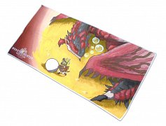 Monster Hunter World Towel Rathalos & Palico Egg Quest 150 x 75 cm