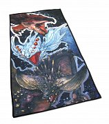 Monster Hunter World Towel Rathalos, Xenojiva & Nergikante 70 x 35 cm
