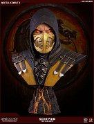 Mortal Kombat X Bust 1/1 Scorpion Hellfire Exclusive 76 cm