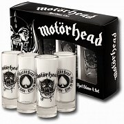 Motörhead panáky (skleničky) 4 ks