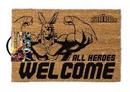 My Hero Academia Doormat All Heroes Welcome 40 x 60 cm