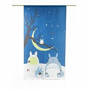 My Neighbor Totoro Japanese Curtain Totoro Winter Sky