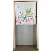My Neighbor Totoro Japanese Doorway Curtain Totoro & Tulip