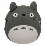My Neighbor Totoro Mini Silicon Coin Purse Totoro grey 9 cm
