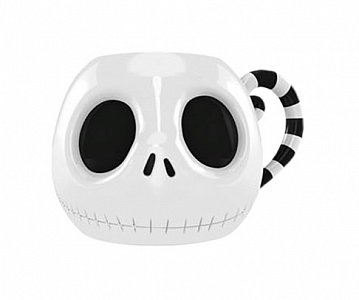 Nightmare Before Christmas 3D Shaped Mug Jack\'s Head - 1