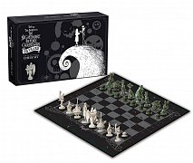 Nightmare before Christmas Chess Collector\'s Set 25 Years  --- DAMAGED PACKAGING