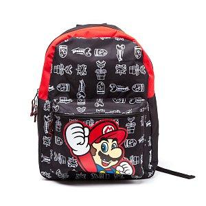 Nintendo Batoh Super Mario černý - Fantasypoint.cz d2d6333368