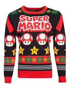 Nintendo Knitted Christmas Sweater Super Mario - 1